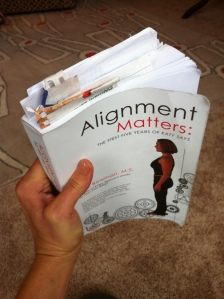 Aligned & Well book